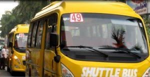 Bus route 49.