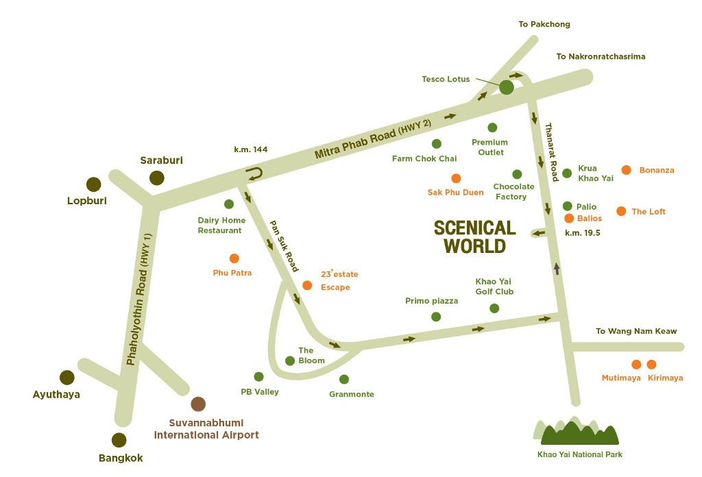 Scenical Map