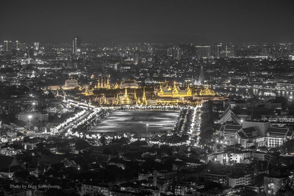 ภาพพระบรมมหาราชวัง โดย Bigg Sirirojwong