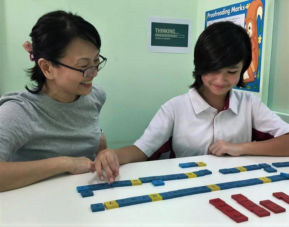 Educational therapist helping learner with learning difficulties
