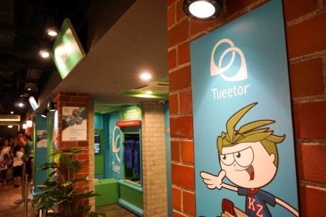 Tueetor's Store-front in KidZania