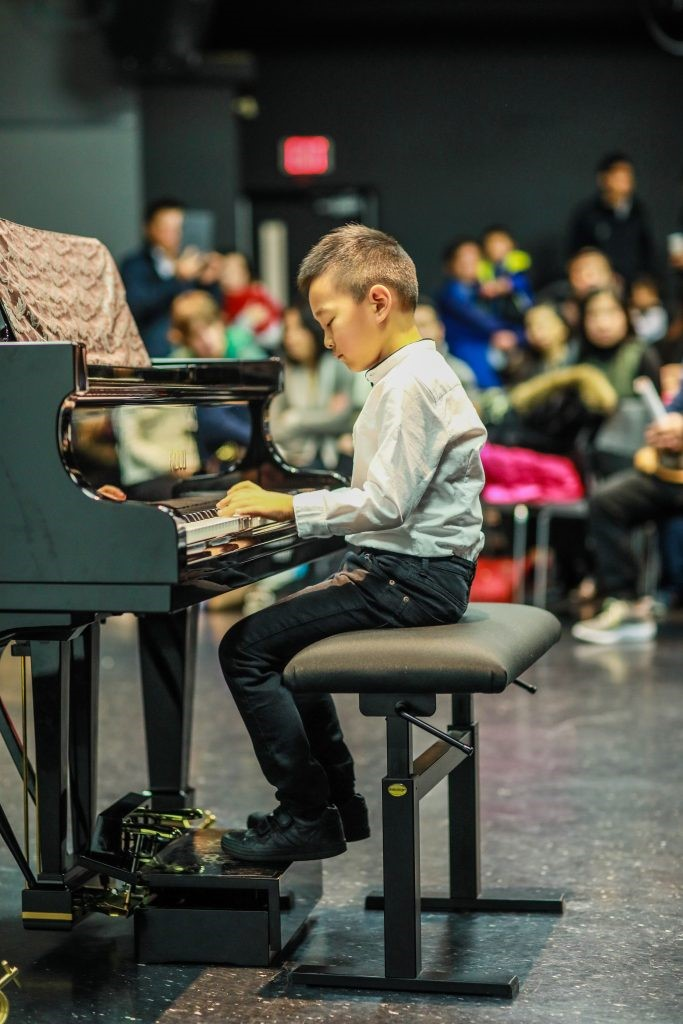 Young musician learner with Music For Young Children
