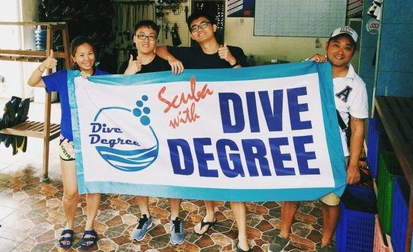 Dive Degree Banner