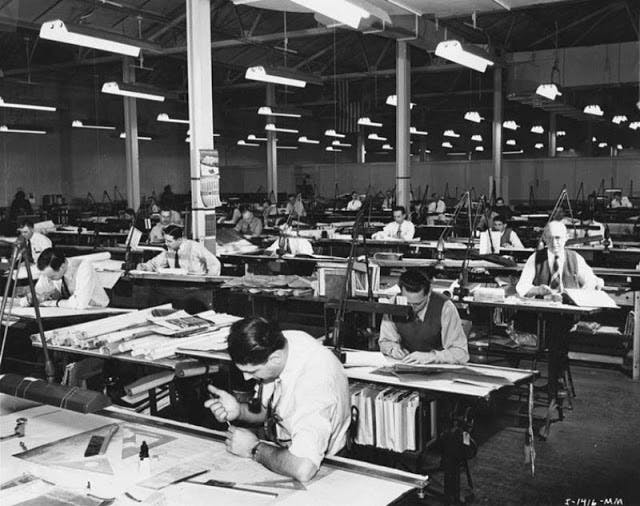 (Photo: courtesy from www.archinect.com) Before the advent of AutoCad and other drawing softwares. Architects draws every detail by hand.