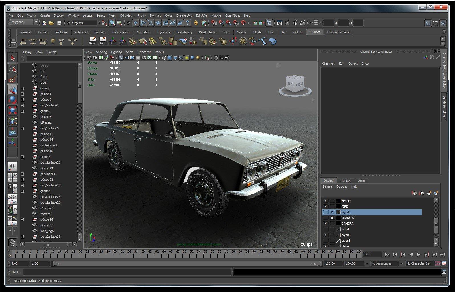 3D Auto Desk Maya