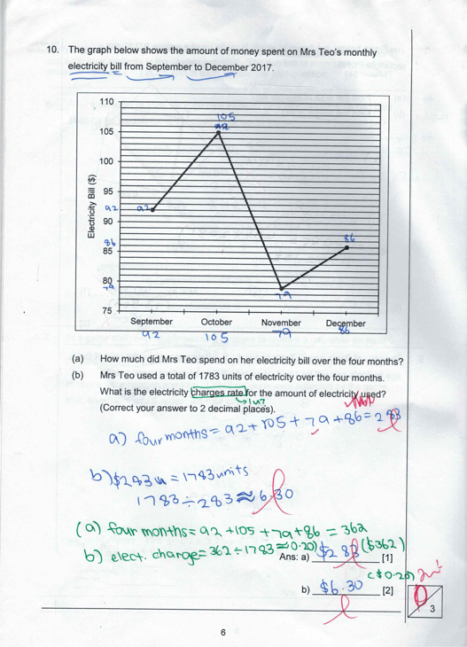 PSLE Maths problem3