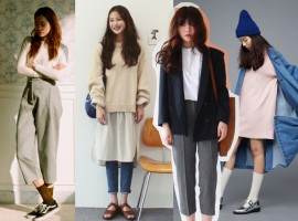 """มินิมอล สตรีทสไตล์แบบ """"สาวเกาหลี"""" แตกต่างแต่ดูดีสุดๆ!"""