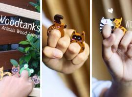 ร้าน Woodtanks ไอเดียแนวใหม่ แหวนไม้ รูป animals (ร้านค้าแนะนำ#5)