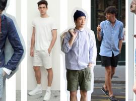 การแต่งตัวผู้ชาย ด้วยกางเกงขาสั้น แบบไหนถึงจะเรียกว่าดูดี ? (สไตล์#24)