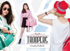 ร้าน Troopers กระเป๋าเป้ สดใส แบรนด์คนไทย (ร้านค้าแนะนำ#9)