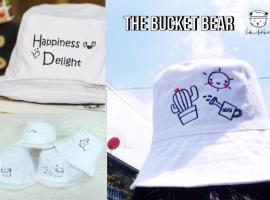 ร้าน Bucket Bear ให้คุณออกแบบหมวกคุณเองได้  (ร้านค้าแนะนำ#13)