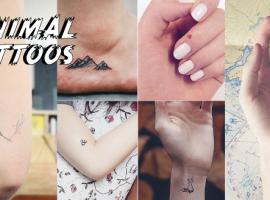 "Minimal Tattoos : ไอเดียสุดฮิปกับ ""แทททู จิ๋ว"" สุดน่ารัก (สไตล์#46)"