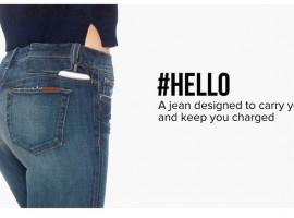 Smart-jeans กางเกงยีนส์ ที่สามารถชาร์จแบตสมาร์ทโฟน ได้อย่างเนียนๆ!