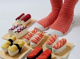 เพลิดเพลินไปกับ ไอเท็มน่ารักๆอย่าง ถุงเท้า ซูชิ!!