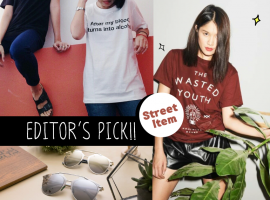 """Theme : Street "" ไอเท็มแนะนำจาก ShopSpot (Editor's Picks#3)"
