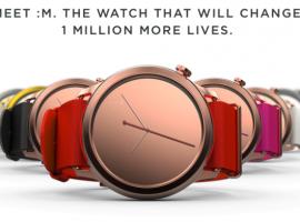 1FACE:M New Collection กลับมาอีกครั้งกับนาฬิกาสุดชิคของคนใจบุญ