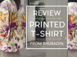 """รีวิว เสื้อพิมพ์ลาย ดีไซน์โดดเด่นกับคอลเลคชั่น """"Weekend Wonderfruit"""" จาก แบรนด์ Bhubadin (รีวิว #13)"""