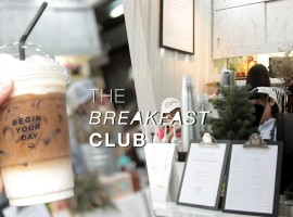 The Breakfast Club : คาเฟ่สุดชิคกลาง Jatujuk ของ ร้าน Twelve Pm x Front Nine
