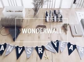Wonderwall ธงสามเหลี่ยมตกแต่งบ้านสุดชิค ที่สามารถออกแบบเองได้! (ร้านค้าแนะนำ #32)