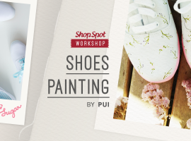 ShopSpot Workshop x Nanyang : กิจกรรมสร้างสรรค์ออกแบบและ เพ้นท์รองเท้า ผ้าใบ Nanyang Sugar