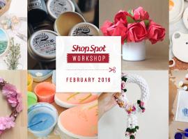ShopSpot Workshop : 8 เวิร์คช็อป คุณภาพ ประจำเดือนกุมภาพันธ์ 2559