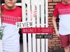 รีวิว Magnet Collection เสื้อยืด สีสันสดใส เห็นไกลตั้งแต่ปากซอย จาก HAMIT (รีวิว#18)