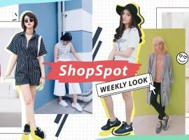 รวมลุคเด็ด! สไตล์การแต่งตัวสุดชิคจากเพื่อนๆชาว ShopSpotters ( Weekly Look #1)