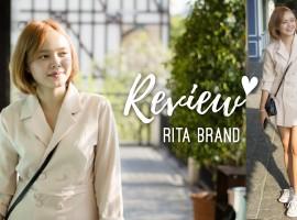 รีวิว Peacoat Dress หวานปนเท่ด้วยสีพาสเทล จากแบรนด์ RITA (รีวิว #19)