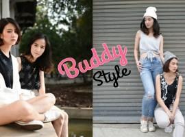 "How To : แต่งตัวคู่กับ ""เพื่อนสาว"" แบบ Buddy Style ที่แอบเซ็กซี่ด้วยนะ (ShopSpot Blogger #13)"