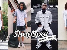 ไอเดียการแต่งตัวชิลๆ ไว้ออกไปเดินเล่น! ตามสไตล์ ShopSpotters ( Weekly Look #2)