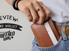 รีวิว Card Wallet งาน Craft ใบเท่ จากแบรนด์ BUFFALOWING (รีวิว #20)
