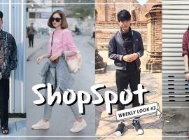 ไอเดีย Mix & Match เบสิคไอเท็ม ตามสไตล์ ShopSpotters ( Weekly Look #3)