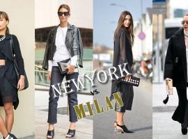 New York VS. Milan Fashion Week สตรีทลุค จากรันเวย์ไหนจะปังกว่ากัน มาดู! (สไตล์ #117)