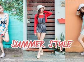 How To : มิกซ์แอนด์แมทช์ไอเท็มง่ายๆให้ได้ลุคสุด Summer! (ShopSpot Blogger #18)