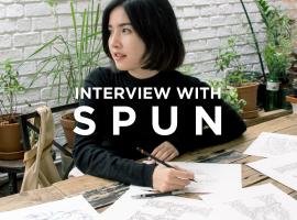 บทสัมภาษณ์ : SPUN นักวาดภาพประกอบและนักออกแบบตัวอักษร ที่มีลายเส้นโดดเด่น มีเอกลักษณ์เป็นของตัวเอง (บทสัมภาษณ์#30)