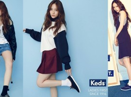 Krystal f(x) กับสไตล์การใส่สนีคเกอร์สุดชิล ที่สาวไทยต้องแต่งตาม 'KEDS x KRYSTAL' campaign
