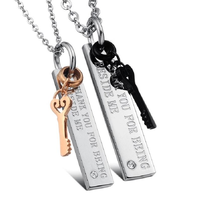 Luxury-Women-font-b-Men-b-font-Crystal-Key-Pendant-font-b-Necklace-b-font-Valentine