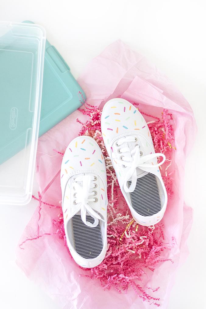 Diy sprinkle shoes 10