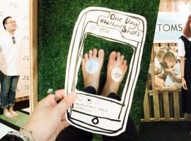 งานที่คุณต้องถอดรองเท้าร่วมงาน! One Day Without Shoes : Toms Thailand