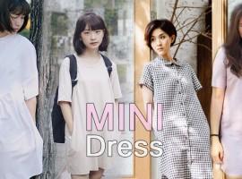 Mini Dress เดรสตัวเล็ก ของสาวน่ารัก ไอเท็มแนะนำโดย ShopSpot (Editor's Picks#25)