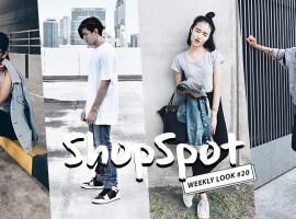 """ไอเดียมิกซ์แอนด์แมทช์  """"ไอเท็มยีนส์"""" ตามสไตล์ ShopSpotter (Weekly Look #20)"""