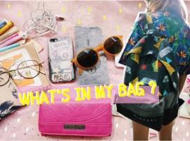What's in my bag ? รีวิวเปิด กระเป๋า มีอะไรอยู่ในกระเป๋าปราดเปรียวบ้าง !?! (รีวิว #22)