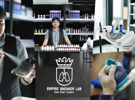 How To : การดูแลรักษาและทำความสะอาดสนีกเกอร์ จาก Empire Sneaker Lab