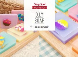 ShopSpot Workshop : Gift Me Soap สอนทำสบู่ของขวัญ by Lailalin (25/9/2016)