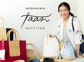 Interview Series EP 2 : NUTTIYAR กระเป๋าสไตล์วินเทจ มิกซ์แอนด์แมตช์งานผ้าและหัตถกรรมไทยอย่างลงตัว (บทสัมภาษณ์#38)