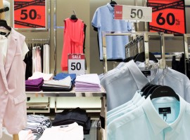 เปลี่ยนลุคใหม่ให้สมาร์ท! กับงานเซลล์ G2000 มีครบทั้งเสื้อผ้าของหนุ่มๆและสาวๆ ลดราคาสูงสุดถึง 60%