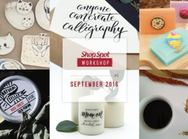 ShopSpot Workshop : กิจกรรมเวิร์คช็อปสร้างสรรค์ประจำเดือนกันยายน 2559