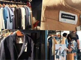 FREITAG n' F-ABRIC จากกระเป๋าผ้าใบคลุมรถบรรทุก สู่สินค้าไลน์เสื้อผ้าที่เป็นมิตรกับสิ่งแวดล้อม