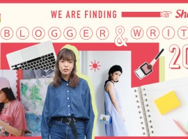 ShopSpot Blogger & Writer 2016 รับสมัครแฟชั่นบล็อกเกอร์และนักเขียนมาร่วมทีมสุดชิค!!!