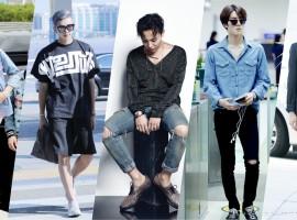 พาส่อง! สไตล์การแต่งตัวของ 5 หนุ่ม ศิลปิน K-POP ที่มีเซ้นส์ทางด้านแฟชั่น (สไตล์ #255)